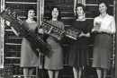 The women who programmed the first big ass computer ENIAC