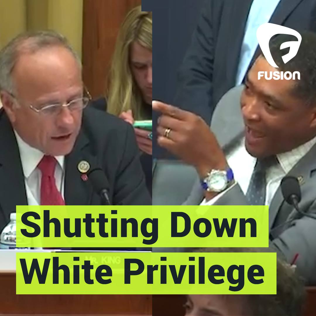 Louisiana's Rep. Cedric Richmond shuts down Rep. Steve King's white privilege banter